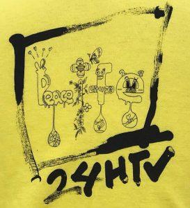 24時間テレビTシャツバックイラストアップ松島聡