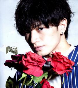 中島健人髪型 黒髪ウェーブ(カール)8